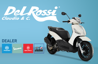 Del Rossi Concessionario ufficiale Piaggio, Vespa, Gilera e Ligier